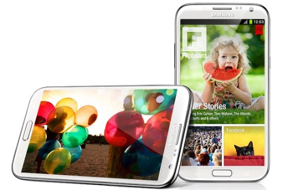 galaxy-note-2 Samsung Galaxy Note 3 Arriving in Four Versions?