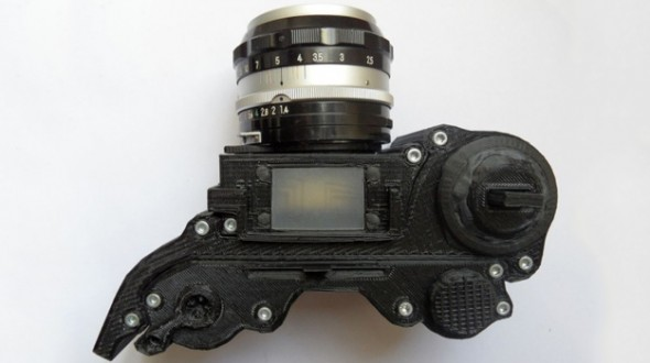 opencam An SLR Made with a 3D Printer? Yes, It is Possible