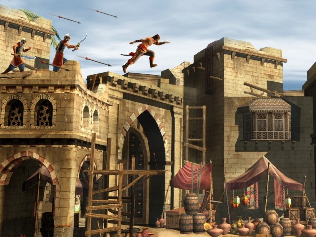 popsnfscreenshot1-640x480 'Prince of Persia: Shadow and Flame' Arrives on July 26th With Remastered Graphics