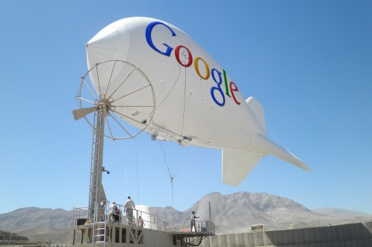 130809-loon1 Google Tests Project Loon Internet Balloons in California