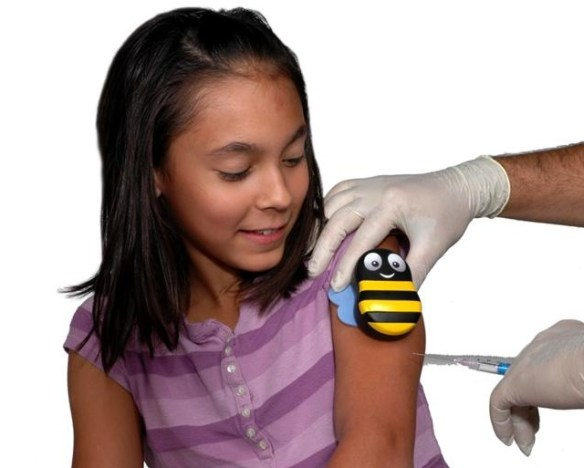 buzzy Buzzy Helps Alleviate Pain from Injections
