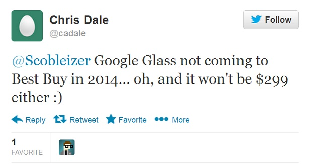 cdale Best Buy 'Google Glass' Rumor Debunked