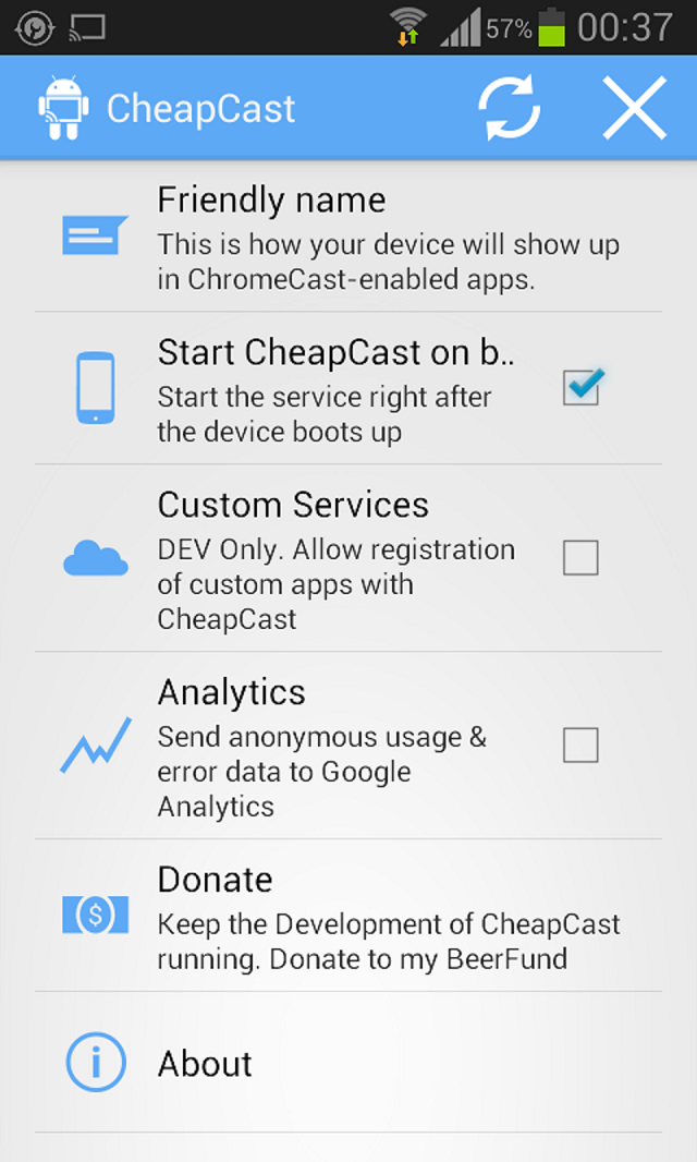 cheapcast-screenshot CheapCast: Convert An Android Device Into A Chromecast Receiver (Video)