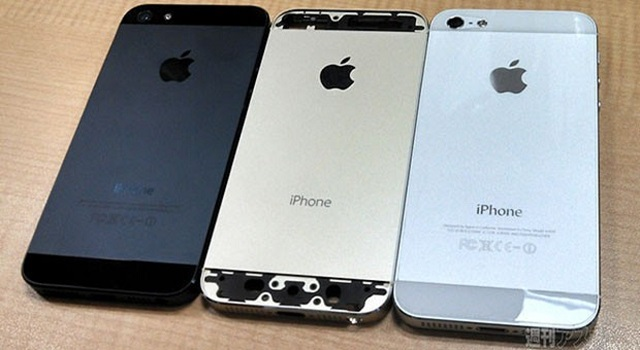 iphone-5s-all-colors Take A Look At The Gold iPhone 5S (Video)