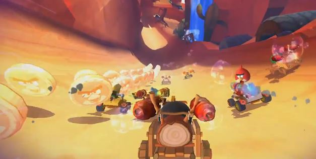 131015-angrybirds Video: Angry Birds Go! Kart Racing Game Launches for Free on December 11
