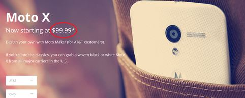 131025-motox Custom Moto Maker Moto X Smartphone Now $99.99 with AT&T