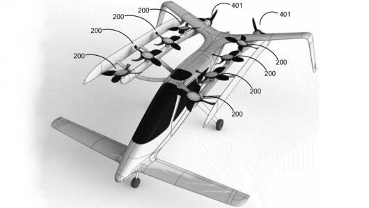 131122-flyingcar0 Vertical Takeoff Flying Car Fits in Regular Parking Spot