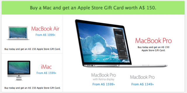 131128-apple-640x319 No Discounts for Apple Black Friday, Just Free Gift Cards