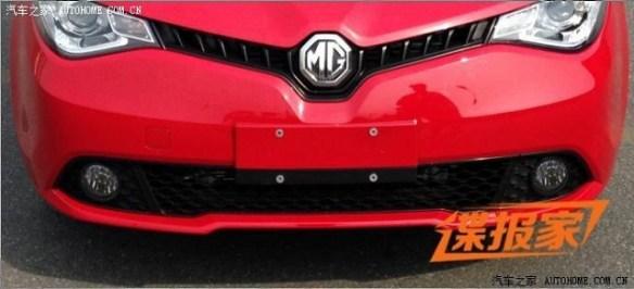 2014-mg5-sedan-1 New MG5 Sedan Spied in China