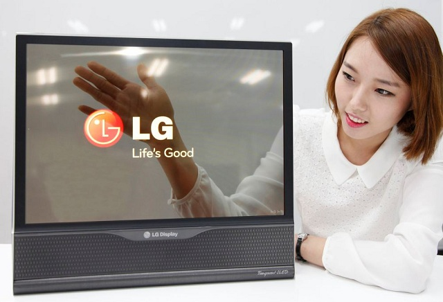 transparent-oled LG Introduces A Very Flexible 18-Inch Display