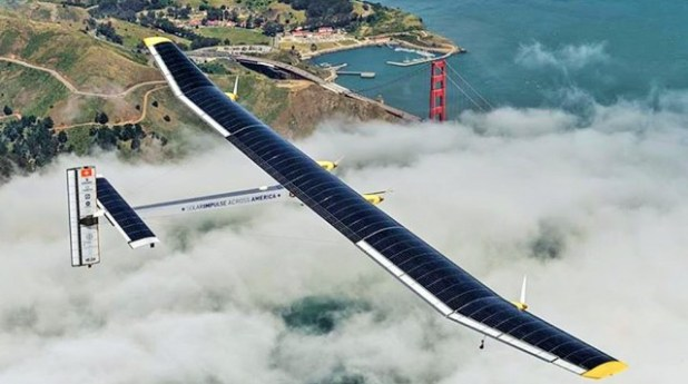 solarplane4-640x357 Solar Impulse, World's First Solar Airplane, Breaking Record By Flying Around the World Without Any Fuel (VIDEO)