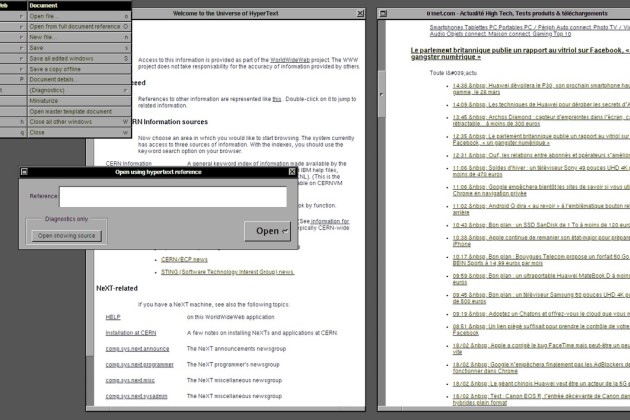 worldwide web nexus sur nextSep OS