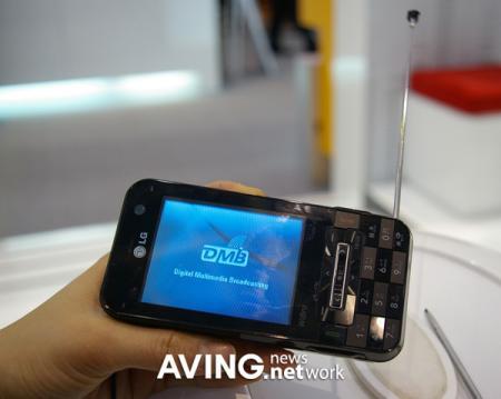 LG KC1 WiBro smartphone