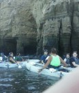 Our Kayaking Guide Enlightening Us With Cave Facts