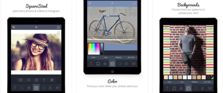 Square Sized app screenshots