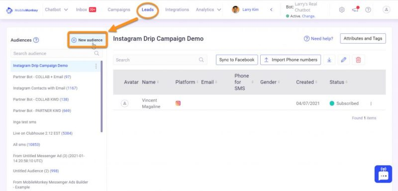 Instagram direct message marketing: Create new audience