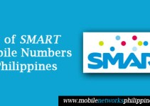 List of Smart Mobile Numbers in the Philippines 2016
