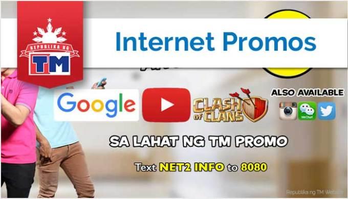 TM Internet Promos