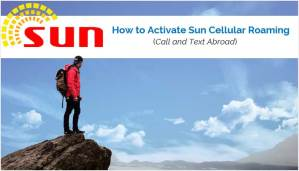 How to Activate Sun Cellular Roaming