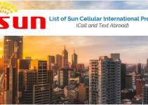 List of Sun Cellular International Promos