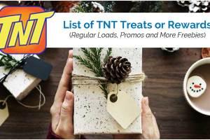 List of TNT Treats or Rewards