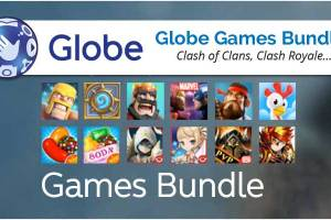 Globe Games Bundle Promo