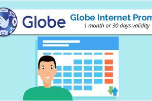Globe Internet Promo for 1 Month