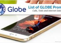 List of All Globe Promos 2018