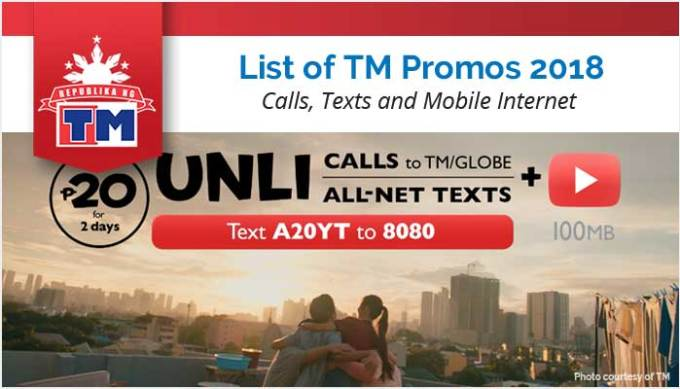 List of TM Promos 2018