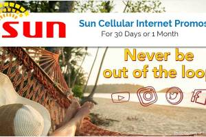 Sun Cellular Internet Promos for 30 Days or 1 Month