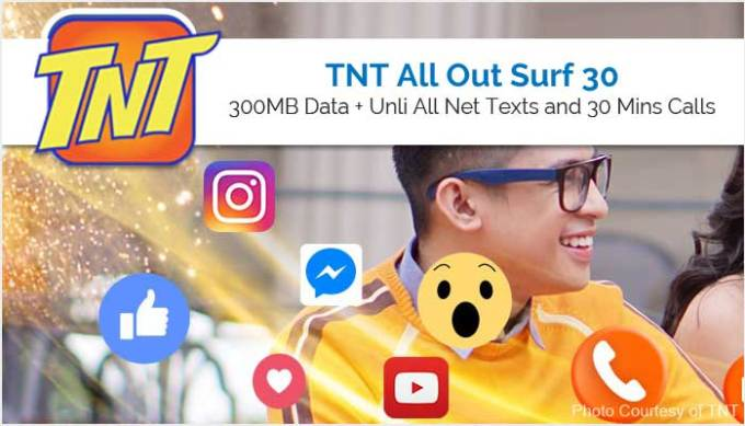 TNT All Out Surf 30 - ALLOUT30