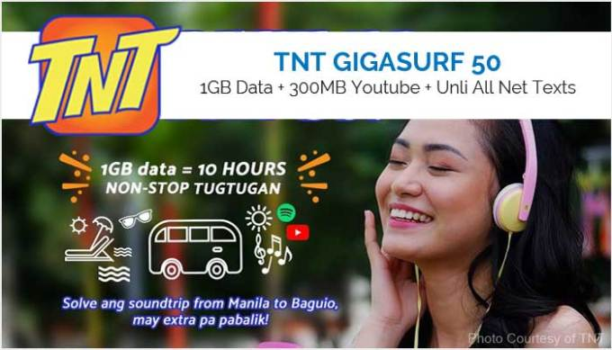 TNT GIGASURF 50 or GIGA50