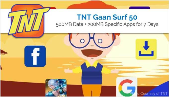 TNT Gaan Surf 50