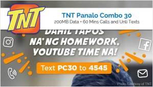 TNT Panalo Combo 30 - PC30