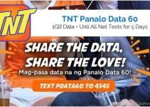 TNT Panalo Data 60 - PDATA60 2018