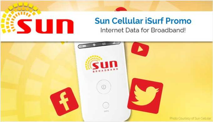 Sun Cellular iSurf Promo - Sun Broadband