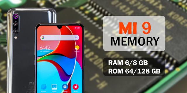 Ram & processor of Xiaomi MI 9