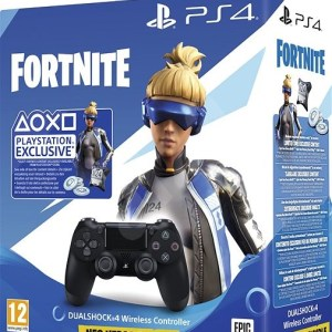 Sony-PS4-Dualshock-4-V2-–-Black-Fortnite-Neo-Versa-Bundle-balenie