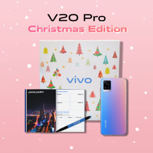 [Christmas Edition] vivo V20 8GB+128GB, 64MP Night Camera + 44MP Eye Autofocus Camera, 4000mAh, 33W Fast Charge, Smart phone, Cellphone with Limited Box