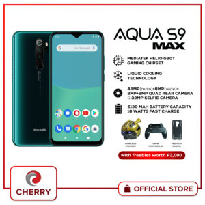 Cherry Mobile Aqua S9 Max with FREE Wireless Speaker, Game Controller, & Premium Case