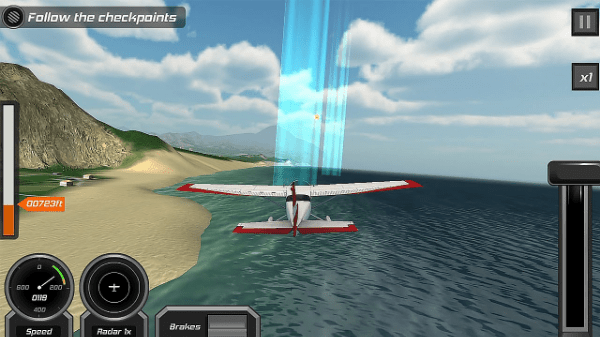 game simulasi android: Flight Pilot Simulator