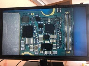 GALAXY S8 基板修理 データ復旧|急に電源が入らなくなった