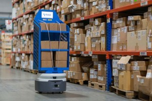 Fetch robot in a warehouse