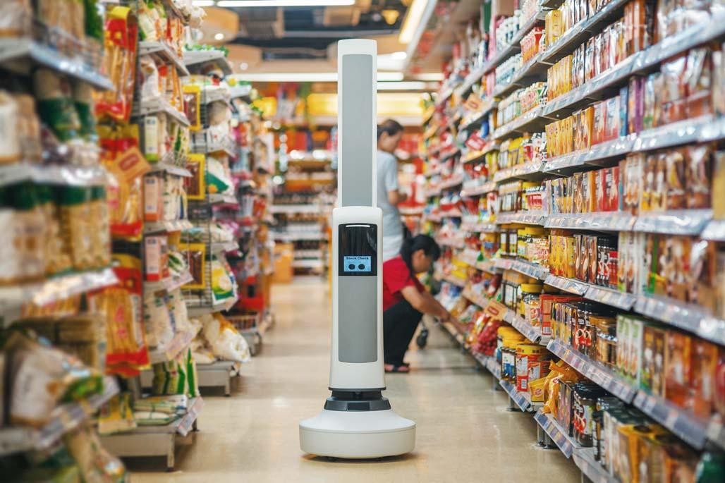 Tally Robot para supermercado y tienda