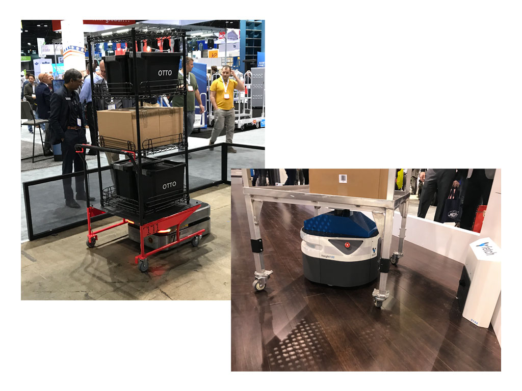 Cart solutions at ProMAT 2019