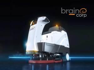 Brain Corp floor cleaner robot
