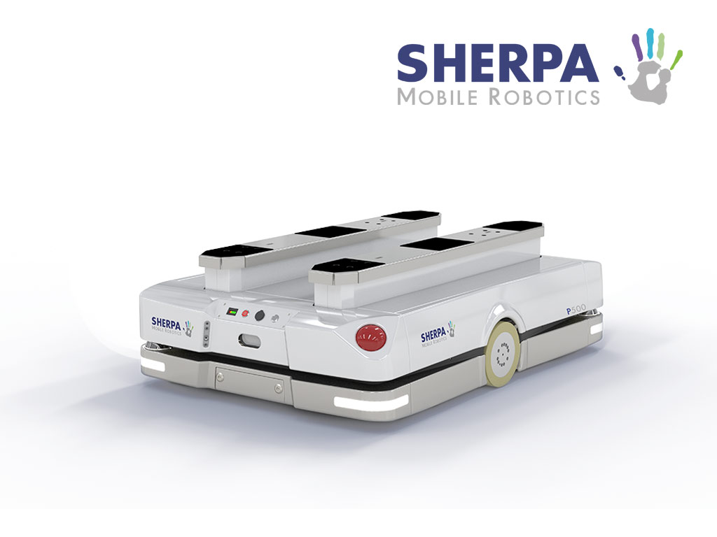 Sherpa Pallet moving robot
