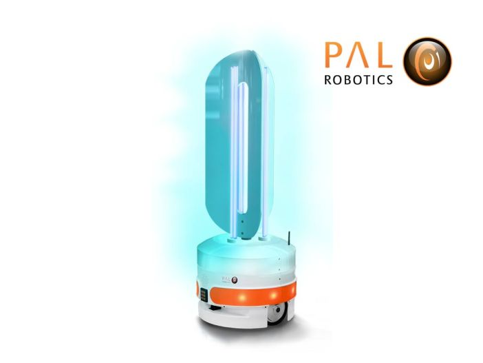 PAL Robotics UV Light Disinfection AMR