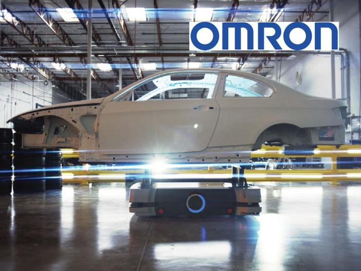 OMRON HD-1500 moves a car chassis
