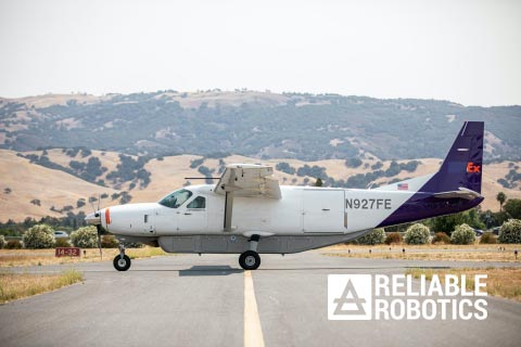 Reliable Robotics Plane